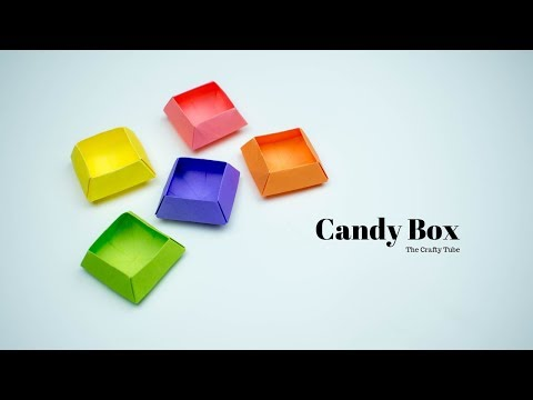 Candy Box - How To Make Candy Box - Candy Box Making - Paper Craft - DIY