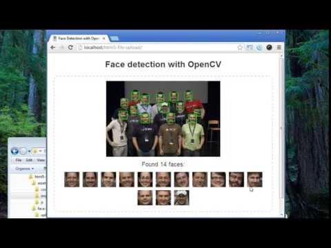 Net-based UI for OpenCV face detection – Advanced Imaging