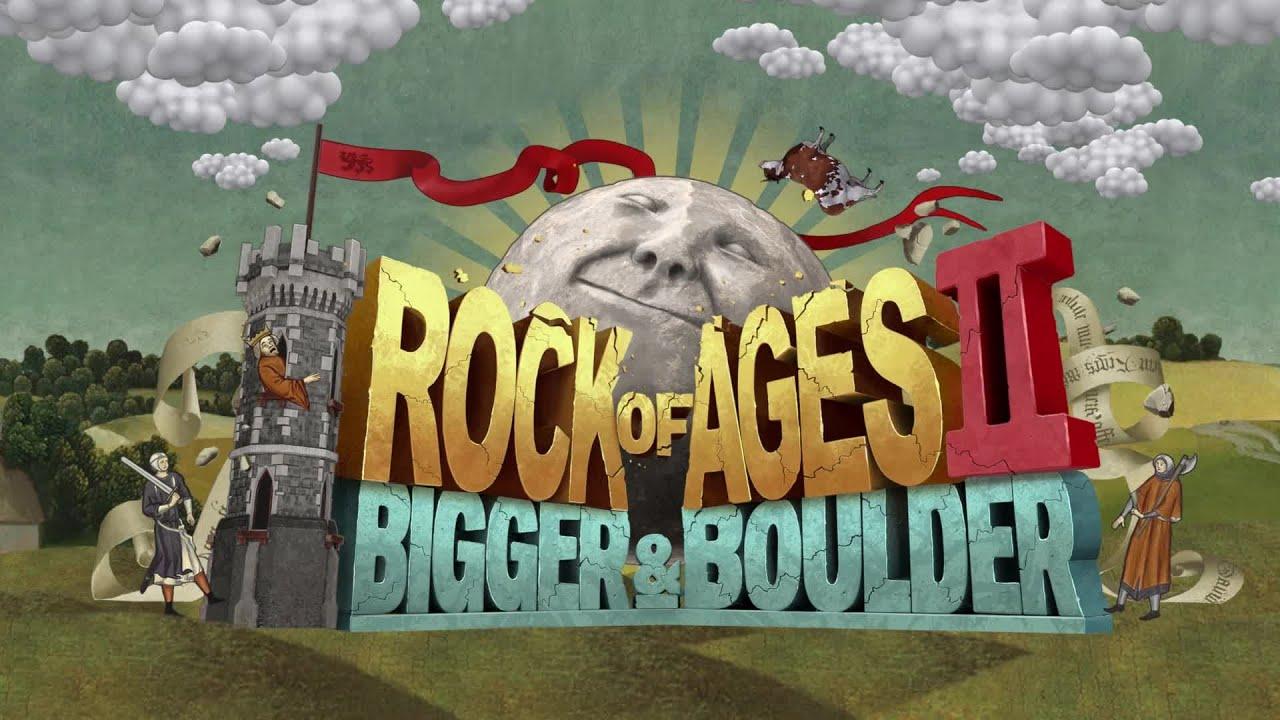 Resultado de imagem para Rock of Ages II Bigger & Boulder