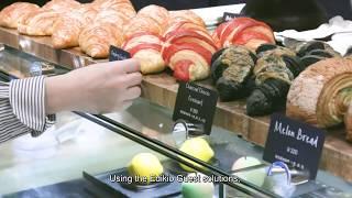 Edikio   customer testimonial buffet tags in a Japanese 5 star hotel ENG