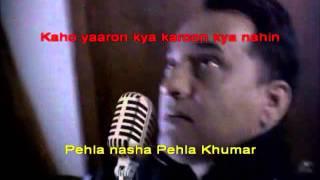 Pehla Nasha Pehla Khumaar Karaoke