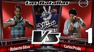"""La Voz Perú Lunes 04-11-13 """"04/11/2013"""" Equipo Kalimba Roberto Silva vs Carlos Prado"""