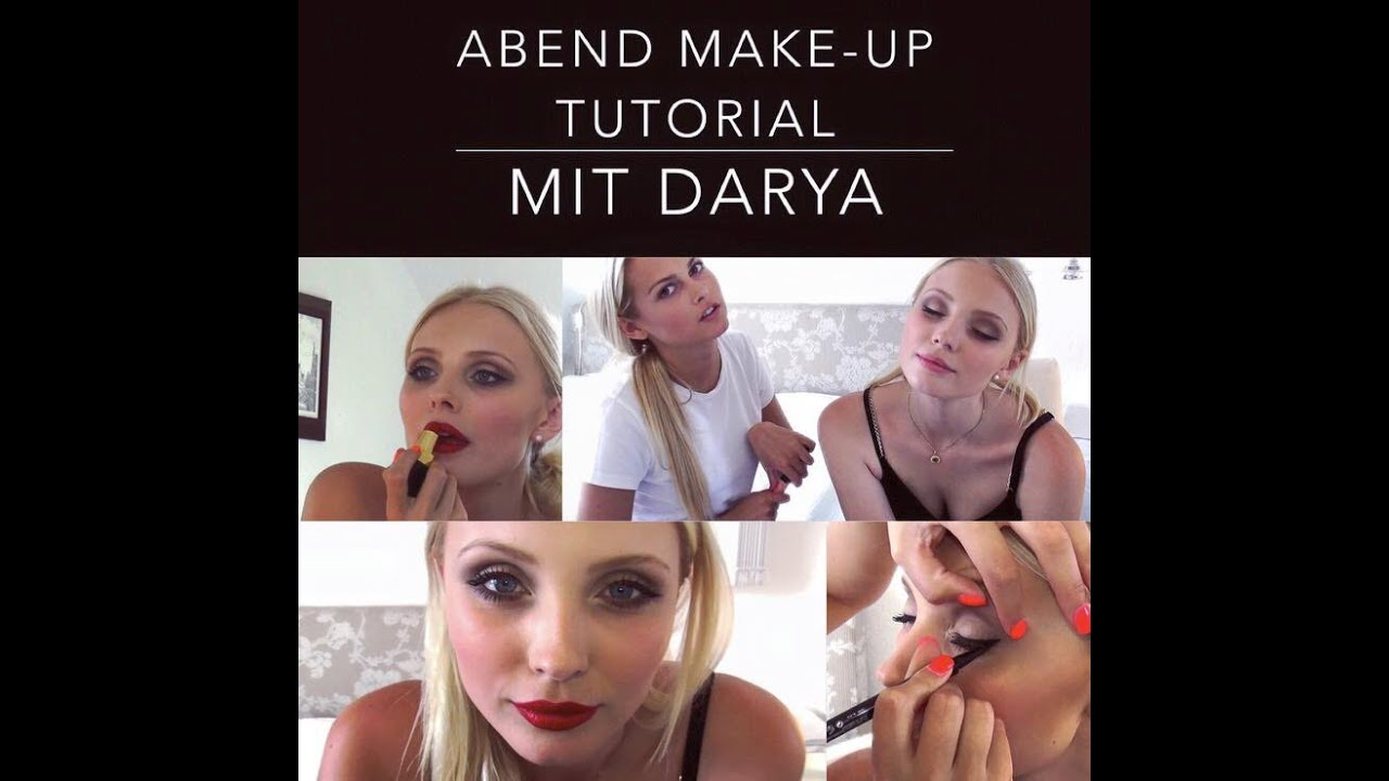 abend make up tutorial mit darya youtube. Black Bedroom Furniture Sets. Home Design Ideas