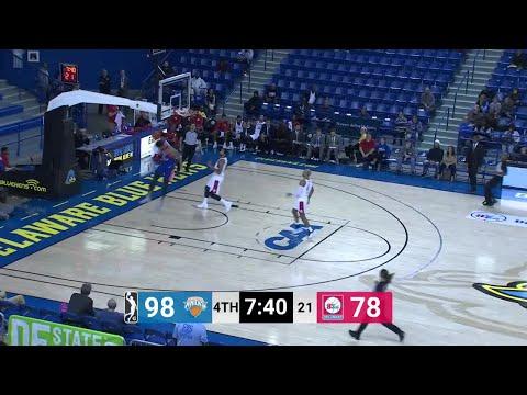 Nigel Hayes (37 points) Game Highlights vs. Delaware 87ers
