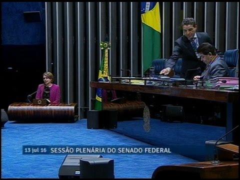 Ângela Portela volta a condenar medidas tomadas pelo governo do presidente interino Michel Temer