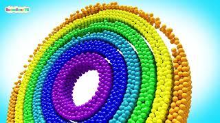 Мультики Для Малышей Кольца из шариков Для Детей - Волшебство ТВ
