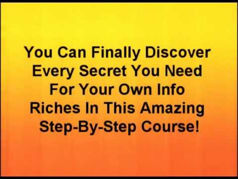 Create your own information products! Buy Instant Info Riches!