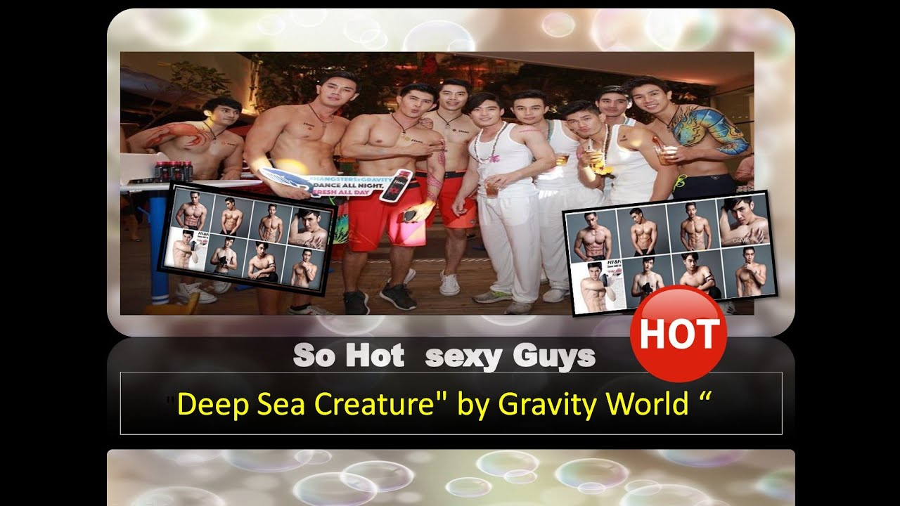Hot & Sexy guys Party Deep Sea by Gravity & Hang Beach Style @ Emquartier Bangkok