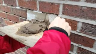 how to do pointing on a brick wall weather pointing
