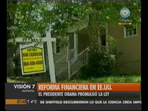 Visión Siete: Reforma financiera en EE.UU.
