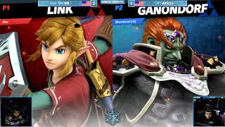 FFXI - Smash Ultimate Singles Winners Quarters - RAID RMU RIN (Link) vs HPT Rickles (Ganondorf)