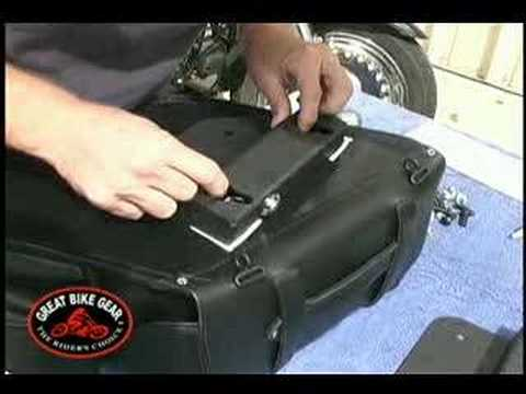 EasyBrackets Motorcycle Saddlebag - Step by Step Installation - Video Guide: Tip of the Week