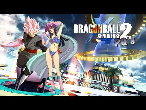 ChiChi & Rose Goku Black Play: DragonBall XV2 PQs - Bonding With My..Uh...Family?