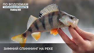 Окунь на микроджиг зимой р Северский Донец как ловить окуня на ультралайт