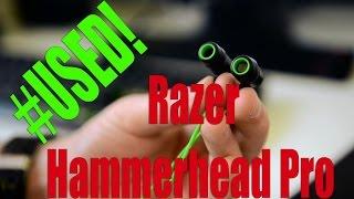 #USED! Razer Hammerhead Pro возрастом 2 года!