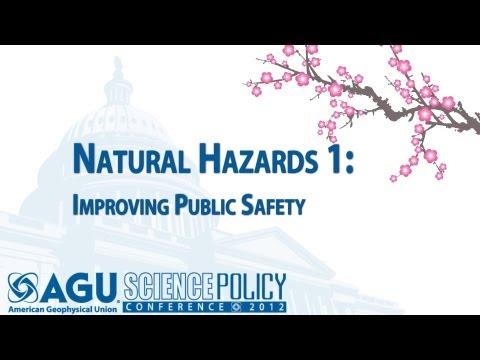 Natural Hazards 1: Improving Public Safety