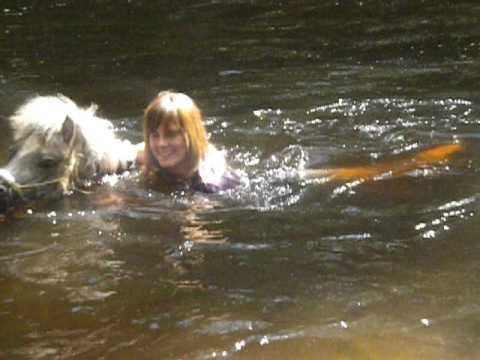 poney nage