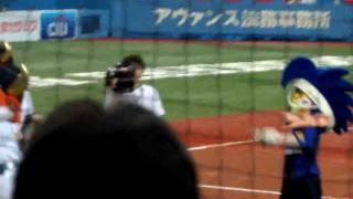 2011年9月20日、京セラドームでのオリックスVSソフトバンク戦、 ...