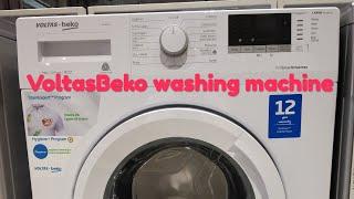 Voltas Beko Front Load Washing machine Review || In Hindi || #Voltas #Beko #VoltasBeko