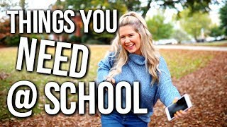 school essentials | things you need at school