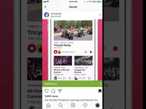 App install campaigns with Instagram ads - best practices & examples