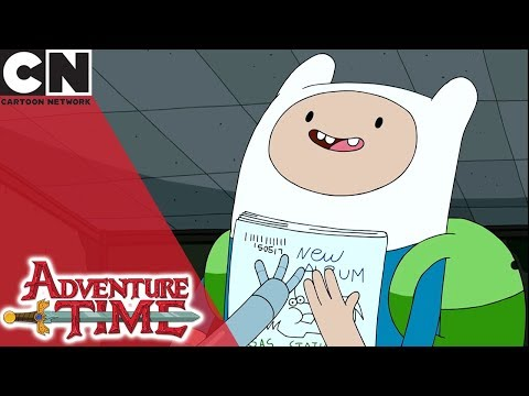 Adventure Time | Fin's Very Own Ble Magazine | Cartoon Network