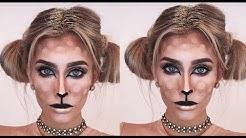 Easy Bambi Makeup-Tutorial - NO Blood/Halloween | BELLA