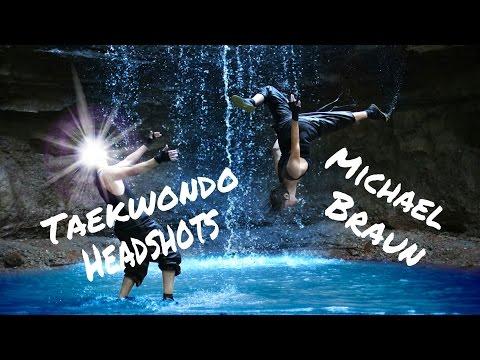 Michael Braun - Taekwondo Headshots