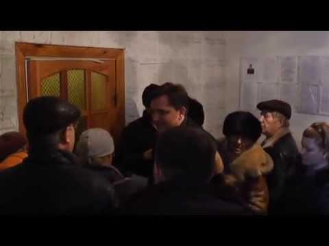 Ажиотаж в Старобельском центре выдачи пропусков в зону АТО
