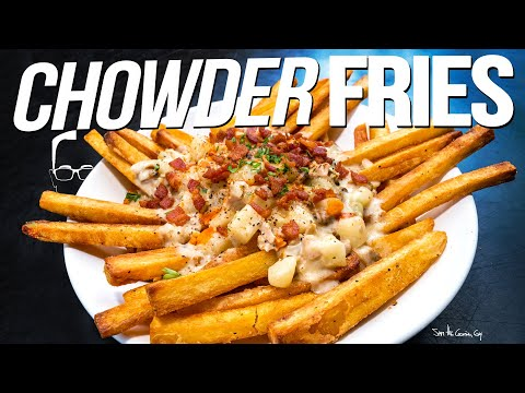 THE ULTIMATE CHOWDER FRIES | SAM THE COOKING GUY 4K
