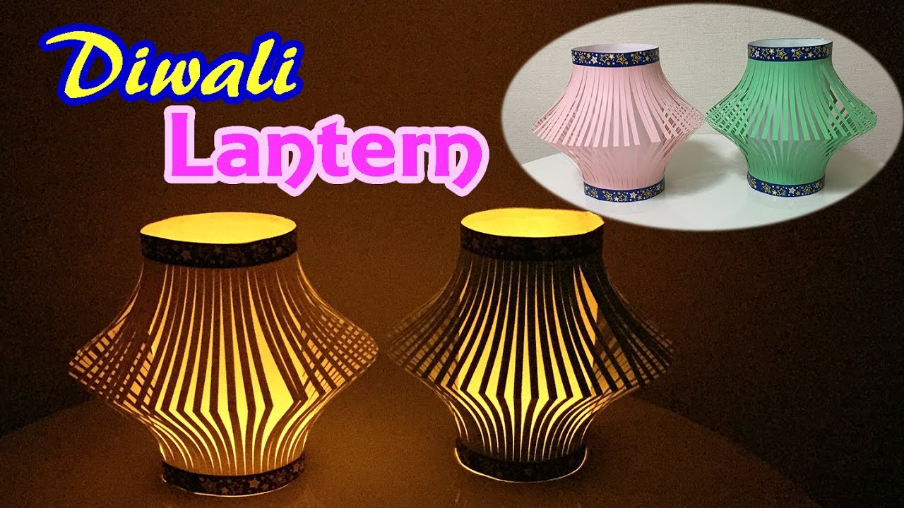 Easy Diwali Lantern Making at Home