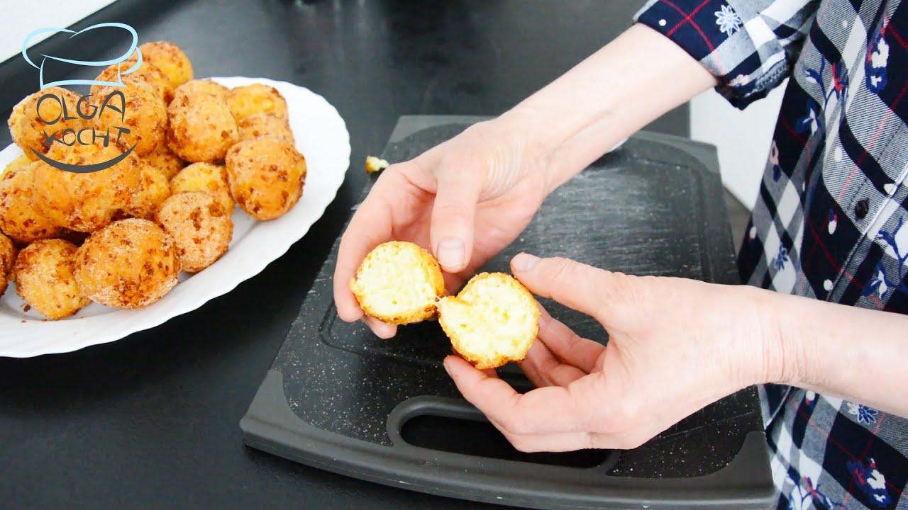 Saftige Käse Kugeln aus Frisch Käse und Grieß   Vegetarisch   Leicht nachzumachen