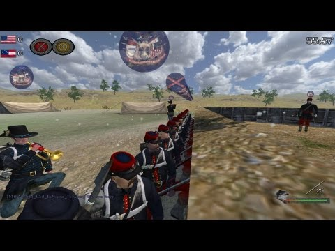 Mount and Blade North and South Line Battle #10 The 14th Brooklyn NYSM
