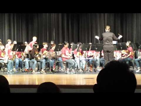 The Crown of Castile by Sartartia Middle School Honors Band