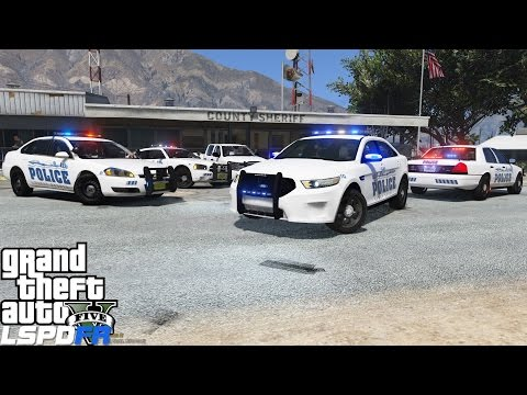GTA 5 LSPDFR Police Mod 181 | Sandy Shores Police Department Pack By Mroxplay