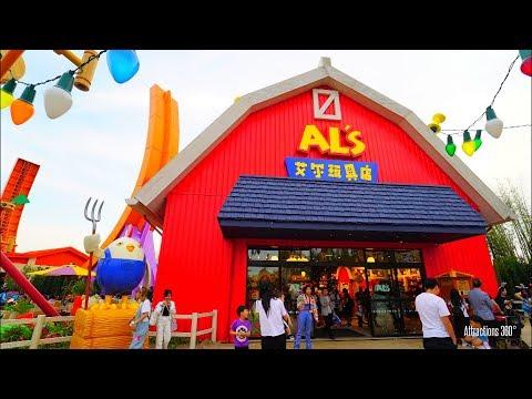 NEW! Shanghai Disneyland Toy Story Land Tour 2018