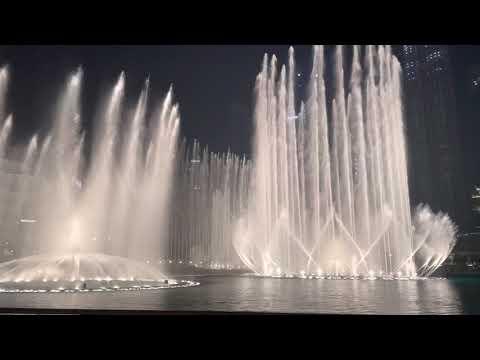 DUBAI FOUNTAIN BURJ KHALIFA OCTOBER 2021. TRAVEL DUBAI 2021