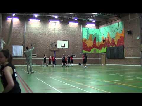Aston Women's Basketball vs Staffs Women's Basketball // March 2014