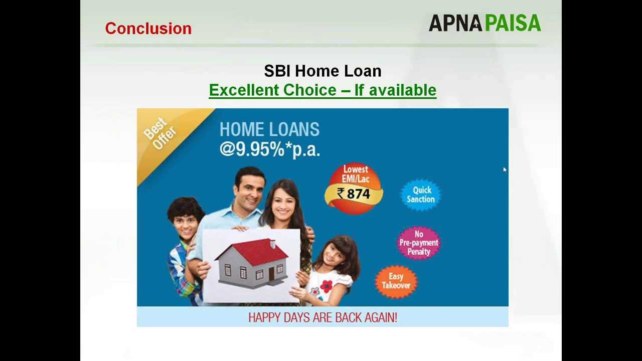 SHOULD YOU CHOOSE SBI FOR YOUR HOME LOAN? - YouTube