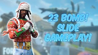 23 Bomb in *NEW* Slide Game mode!