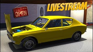 My Summer Car  -  Building the Satsuma  🔴  LIVESTREAM 🔴   (part 3)