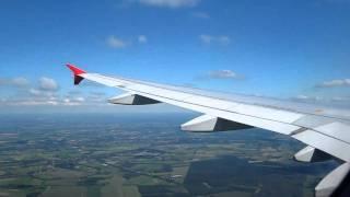 Air Berlin Airbus A319-100 DUS-HAM (2) Approach Part 3/4