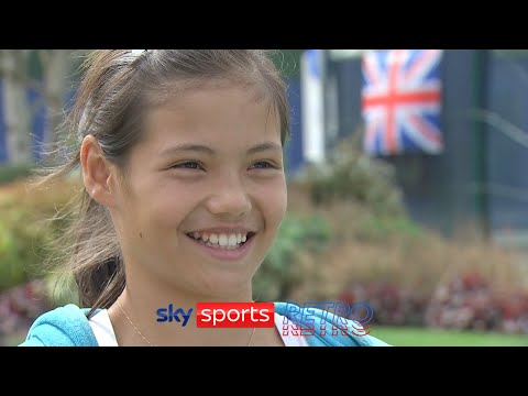 An 11-year-old Emma Raducanu on being a tennis Grand Slam champion