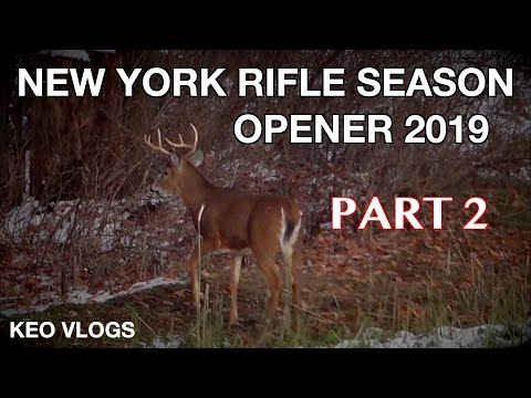 New York Rifle Season Opener 2019 PART 2
