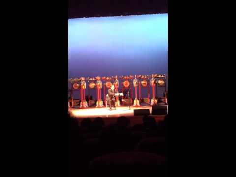 musical saw player sejin choi  선구자(precusor)