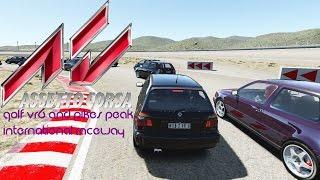 SUNDAY DRIVE   Assetto Corsa VW Golf VR6 + Pikes Peak Raceway
