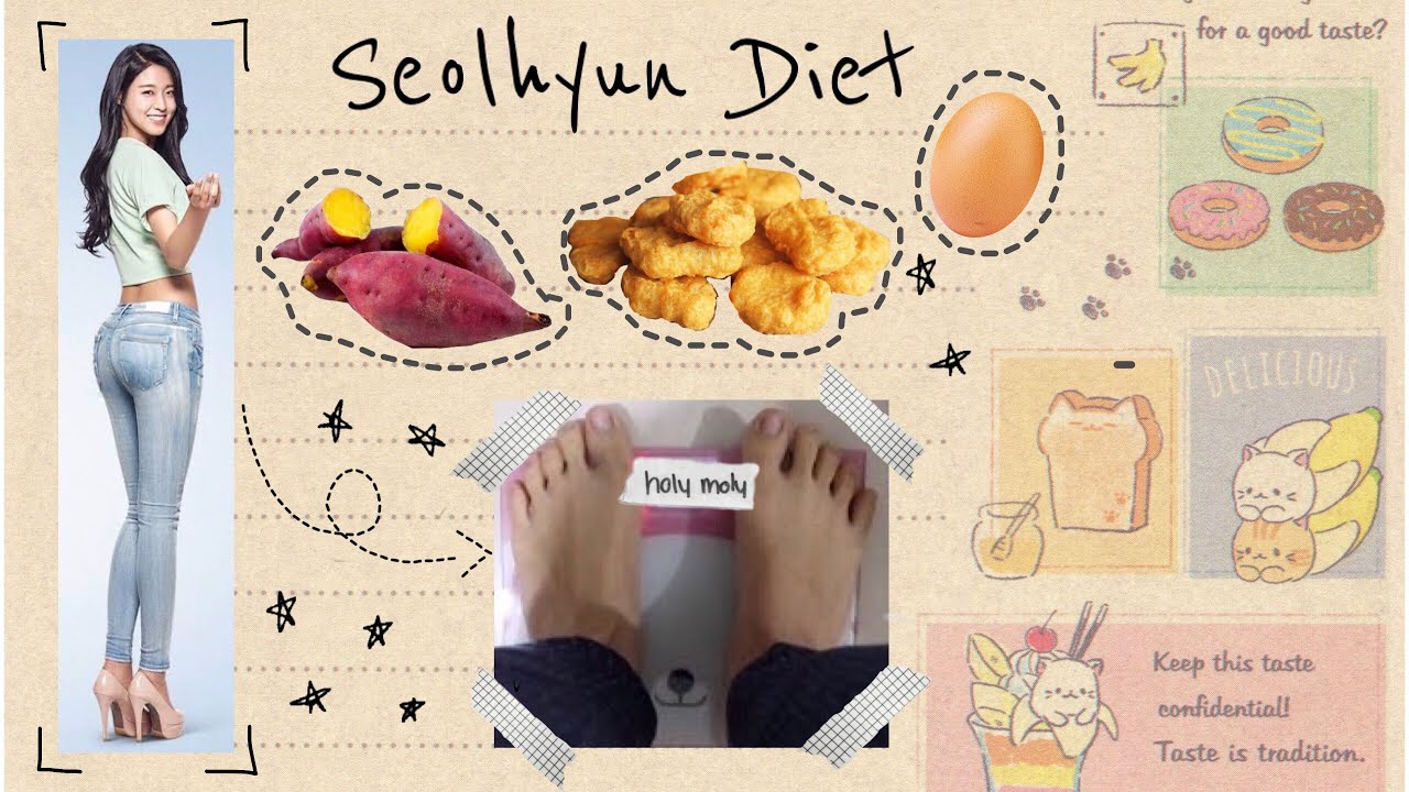 I TRIED SEOLHYUN KPOP IDOL DIET | LOSE 4 POUNDS IN 5 DAYS