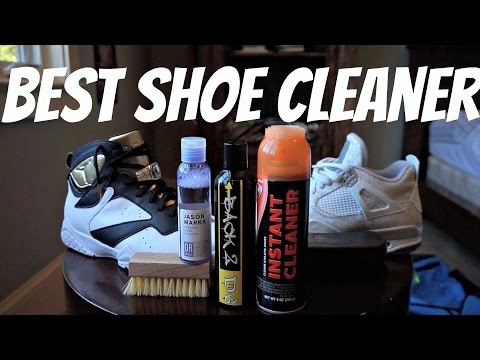 How to clean Sneakers! Best Sneaker Cleaner!