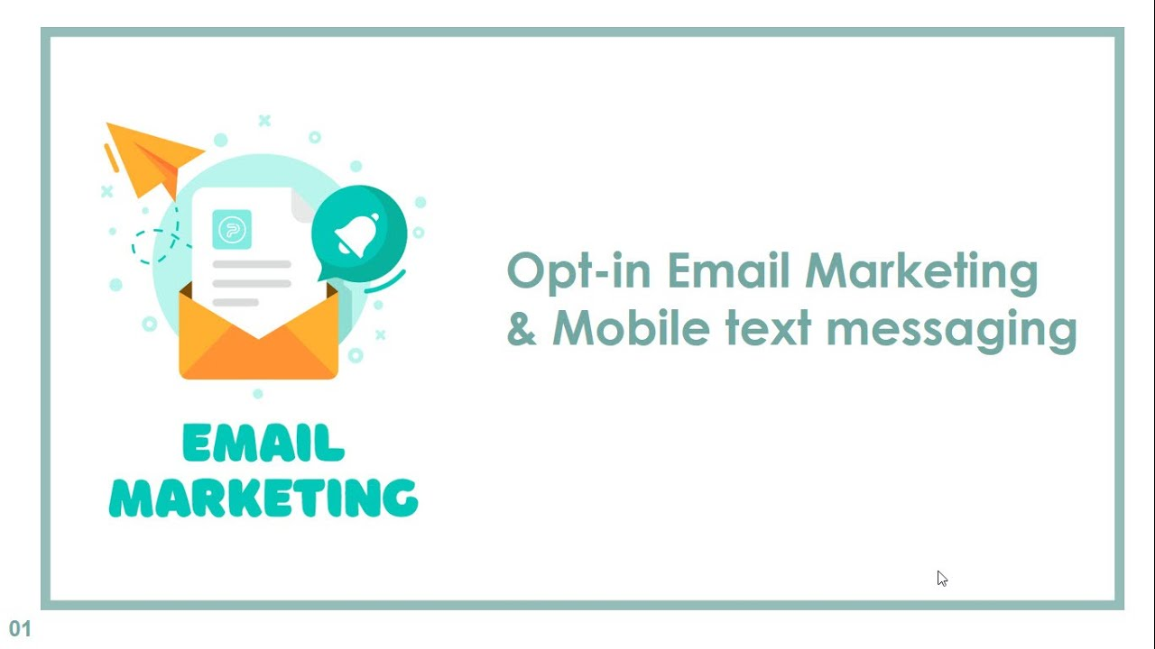 Công cụ Digital Marketing |Opt-in Email Marketing & Mobile text messaging | Nhóm 4