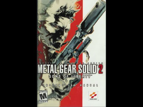 metal gear solid 2 sons of liberty game manual ps2 instruction rh youtube com Metal Gear 2 Characters Metal Gear 2 NES